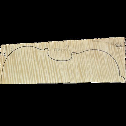 Flamed maple | Viola set No.16