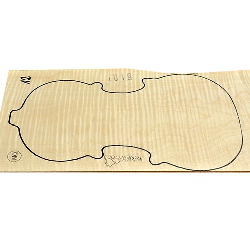 Flamed maple | One Piece Violin set No.12