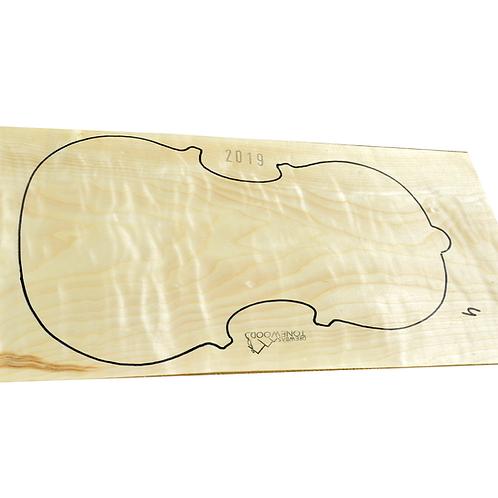 Poplar | One Piece Viola set No.4