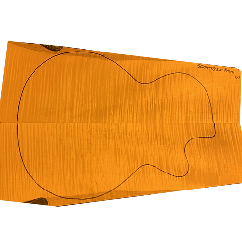 Flamed maple | Guitar drop top No.3