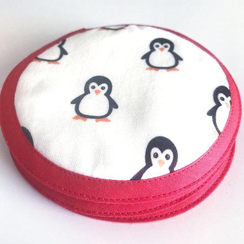 Lot de 4 Disques Nettoyants Pingouin