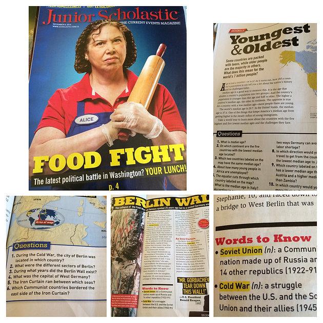 Scholastic Magazines!   Middle School Speech & Language