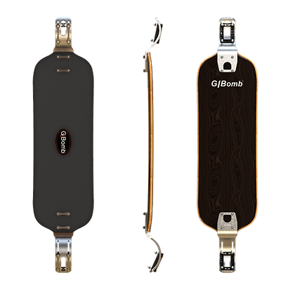 Push|Pump X28 Longboard complete with DDS Front