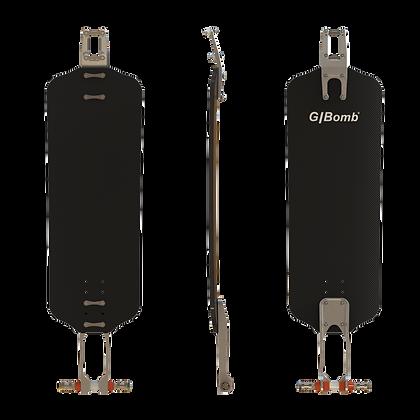 TTA-SDF Carbon 26 Longboard complete
