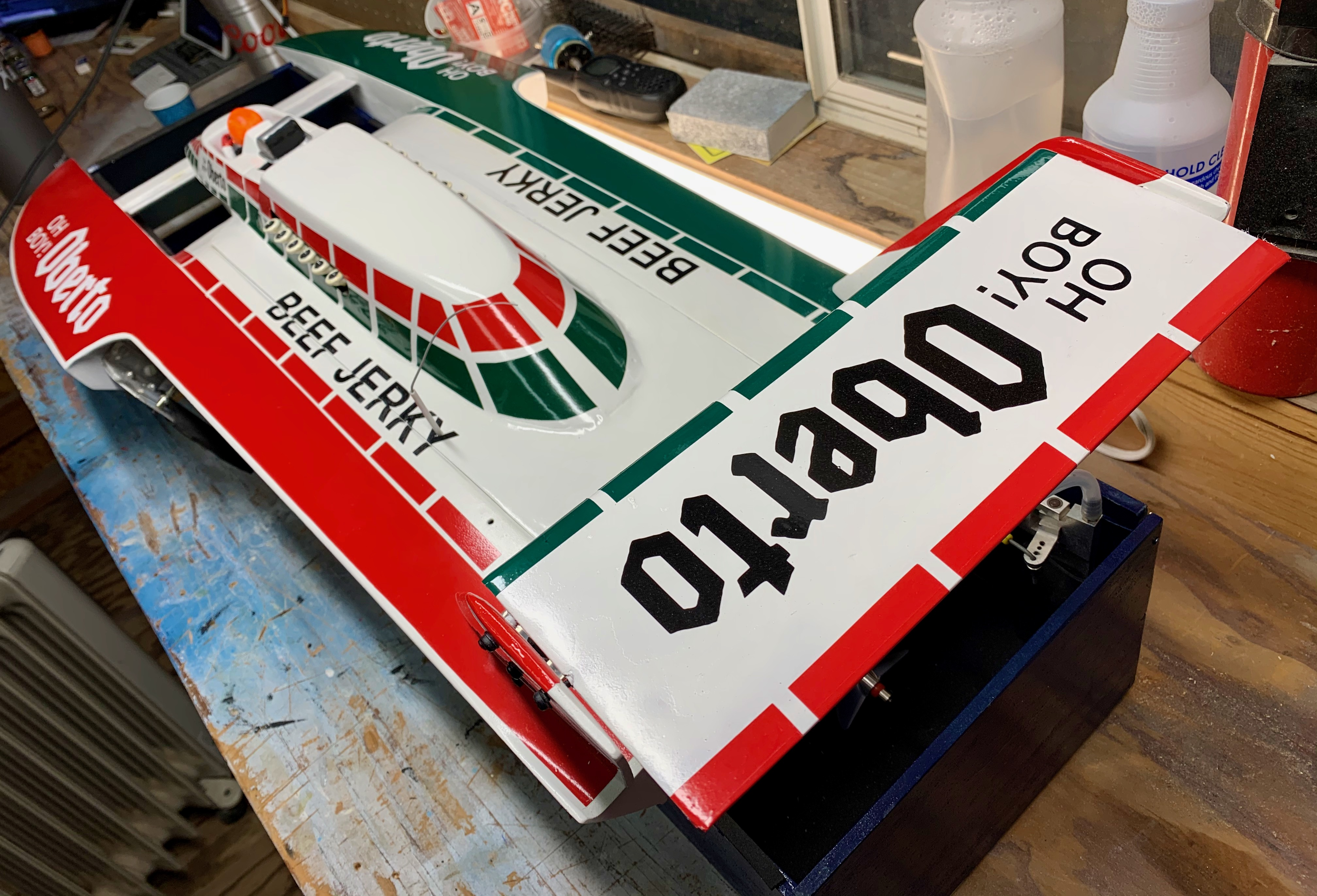 1/10 scale 1987 Oh Boy! Oberto