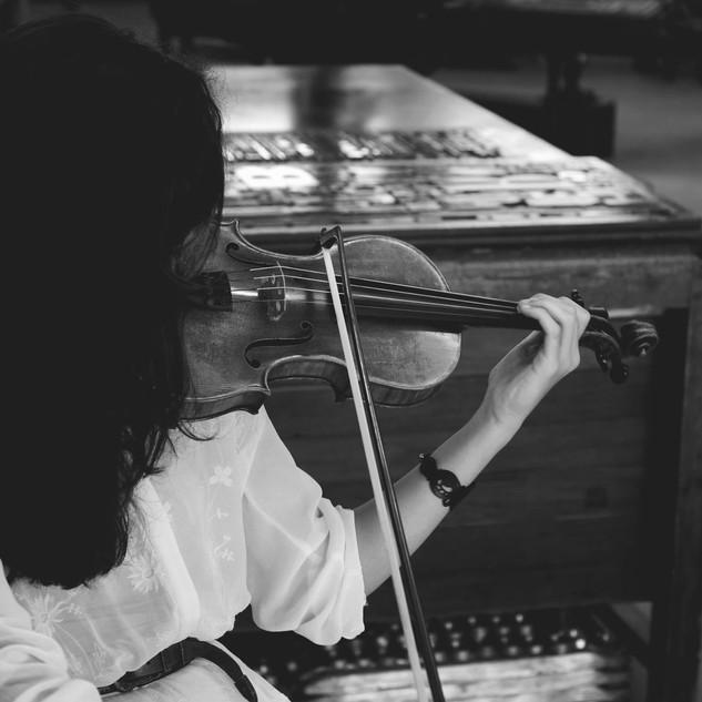 Jenny Galvao, violoniste