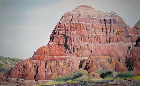Palo Duro Canyan Texas - 35x50