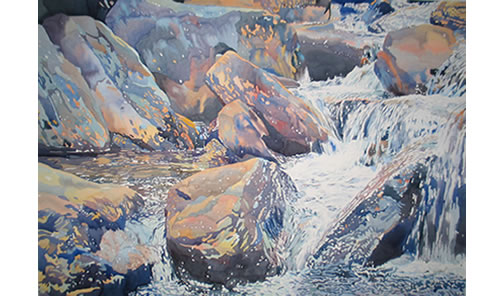 Blue Ridge Upper Falls - 35x50