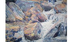 Blue Ridge Upper Falls - 35x50