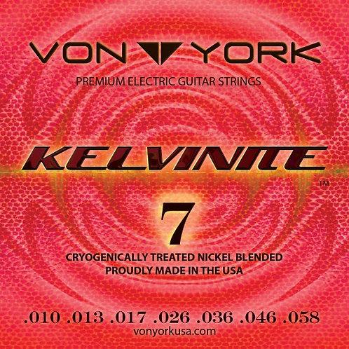 KELVINITE ELECTRIC GUITAR STRINGS, 10-58, 7 STRING