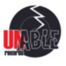 Unable Records Logo.  Awesome logo for an outstanding independent record label.  A division of Unable Music Group.