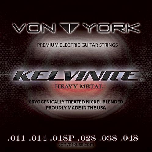 KELVINITE HEAVY METAL GUITAR STRINGS, 11-48