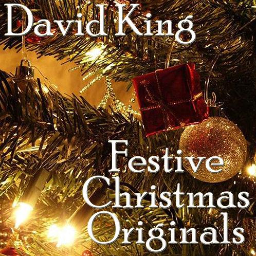 "David King - ""Festive Christmas Originals"" - CD"