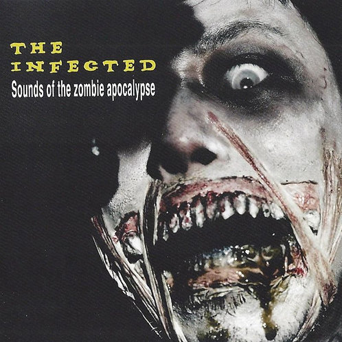 "Audio Zombie - ""The Infected"" - CD"