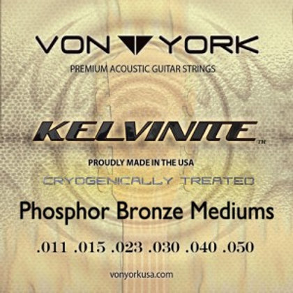 KELVINITE ACOUS. GUITAR PHOSPHOR BRONZE, 11-50 MED