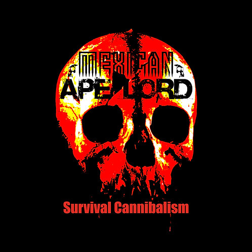 """""""Survival Cannibalism"""" - Mexican Ape-Lord"""