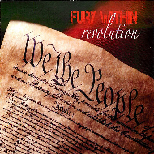 "Fury Within - ""Revolution"" - CD"