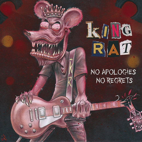 "King Rat - ""No Apologies, No Regrets"" CD"