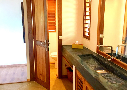 salle de bain varangue