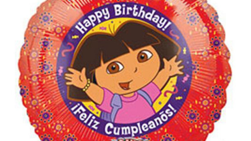 Sing-A-Tune Dora - Foil Balloon