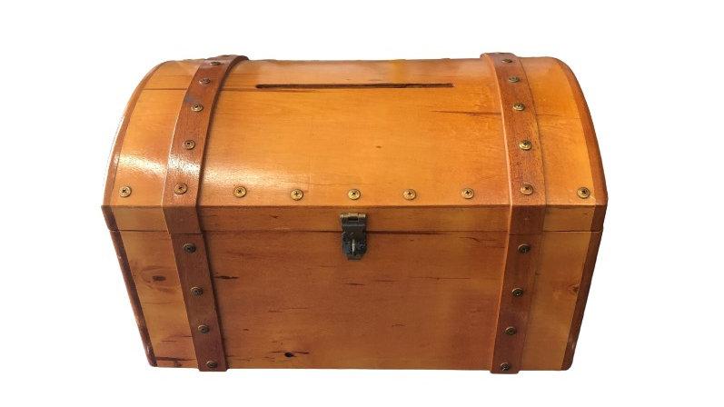 Treasure Chest - Wood Grain