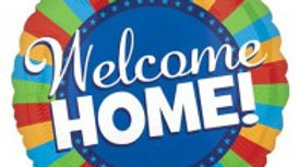 Welcome Home Blitz - Foil Balloon