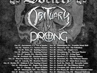 BLACK LABEL SOCIETY ANNOUNCENORTH AMERICAN TOUR WITH OBITUARY, PRONG