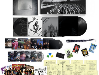 METALLICA (THE BLACK ALBUM) REMASTERED - DELUXE BOX SET ANNOUNCED!