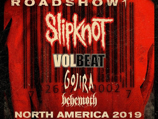 Skipknot Announce Knotfest Roadshow North America 2019 with Special Guests Volbeat, Gojira & Beh