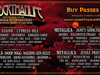 Louder Than Life 2021 Band Lineup Announced