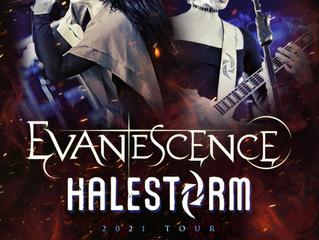 EVANESCENCE + HALESTORM ANNOUNE FALL 2021 U.S. ARENA TOUR