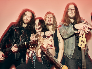 """TYLER BRYANT & THE SHAKEDOWN SHARE NEW SONG """"RIDE"""" — WATCH THE LYRIC VIDEO"""