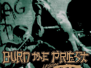 """LAMB OF GOD Releases Animated Music Video for BURN THE PRIEST Cover of Ministry's """"Jesus Bu"""
