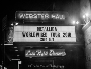 Metallica Brings the Fury to Webster Hall