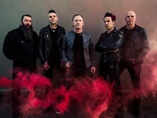 """STONE SOUR'S """"SONG #3"""" CLAIMS #1 AT ACTIVE ROCK RADIO MARKING THE BAND'S FOURTH #1 AT THE FORMAT"""