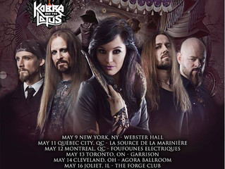 Xandria Announce Theater of Dimensions Tour with Kobra and the Lotus
