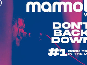 """MAMMOTH WVH ACHIEVES NEW CAREER MILESTONE AS SOPHOMORE SINGLE  """"DON'T BACK DOWN"""" REACHES #1"""