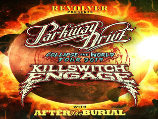 "PARKWAY DRIVE & KILLSWITCH ENGAGE  ANNOUNCE CO-HEADLINE  ""COLLAPSE THE WORLD TOUR"""