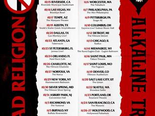 ALKALINE TRIO & BAD RELIGIONANNOUNCE RESCHEDULED CO-HEADLINING NORTH AMERICAN TOUR