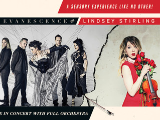 Evanescence and Lindsey Stirling Announce North American Summer Tour