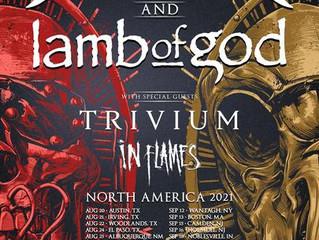 Megadeth & Lamb of God Announce Rescheduled Dates