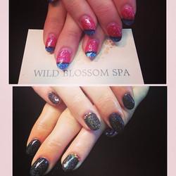 Great to see you today! _mezanella #wildblossomspa #wildblossom #nailswag #nails #nailgasm