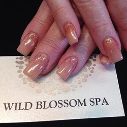 She's wearing your color _1smoothnoodle #wildblossomspa #wildblossom #wild #nails #nail #nailswag #n
