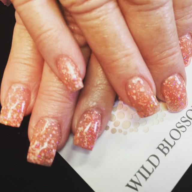 We love this polish! #BestClientsInTheWorld_#manicure #polished #polish_#nails #nailglitter #nailswa