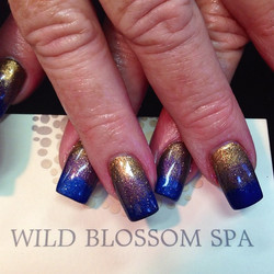 Gradient Nails #wildblossomspa #wildblossom #gradient