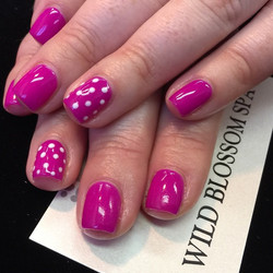 Spring is in the air!  #nails #nailglitter #nailswag #perfect10 #wild #wildblossom #wildblossomspa_#