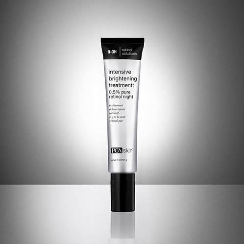 Intensive Brightening Treatment: 0.5% pure retinol night
