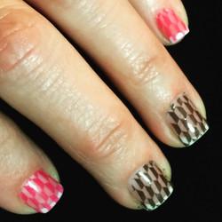 So much fun! #BestClientsInTheWorld_#frenchmanicure #youngnailsinc_#nails #nailglitter #nailswag #pe