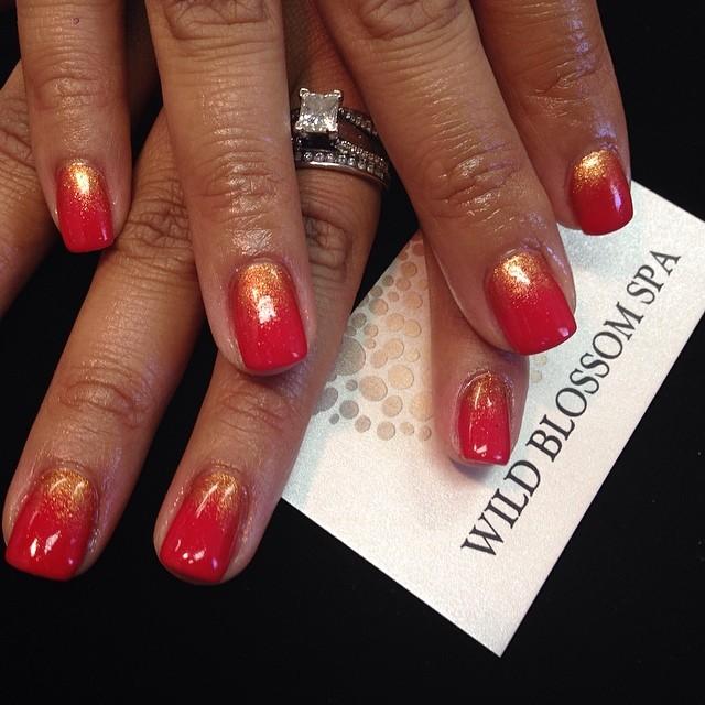 So good to see you today! _preshgomez #wildblossomspa #wildblossom #wild #nails #nail #nailswag #nai