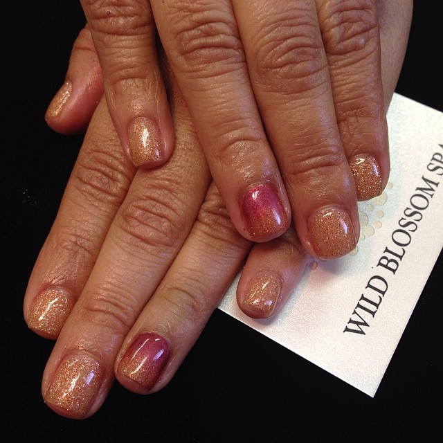So good to see you today! _Purple2107 #wildblossomspa #wildblossom #wild #nails #nail #nailswag #nai
